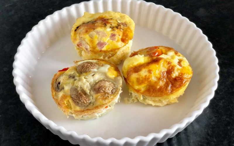 Low Carb Egg Muffins [GF]